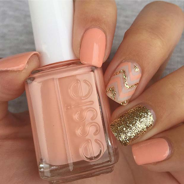 Sparkly-Wave-Nails